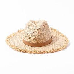Straw Fedora Hat   Forever 21 (US)