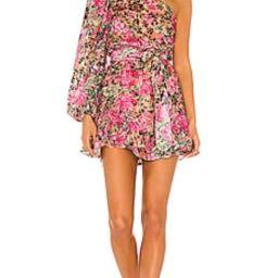 HEMANT AND NANDITA Kilim Mini Dress in Pink from Revolve.com | Revolve Clothing (Global)