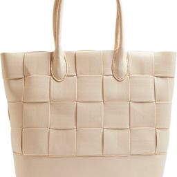 Topshop Weave Faux Leather Tote   Nordstrom   Nordstrom