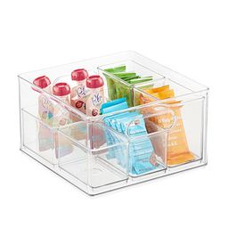 THE HOME EDIT T.H.E. Large Bin Organizer Clear   The Container Store