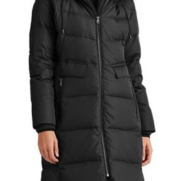 Faux Shearling & Faux Fur Trim Hooded Down Puffer Coat   Nordstrom