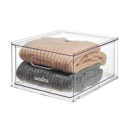 THE HOME EDIT T.H.E. Stackable Drawer Clear   The Container Store