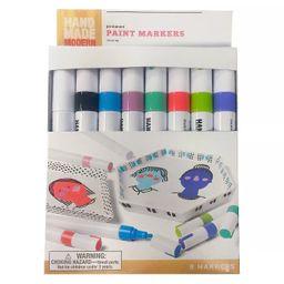 8pk Paint Markers - Hand Made Modern®   Target
