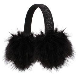 Metallic-Detail Faux-Fur Earmuffs   Macys (US)