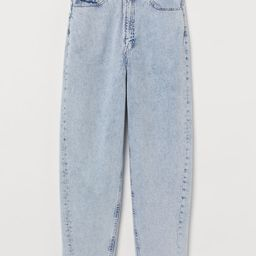 H & M - Mom High Ankle Jeans - Blue | H&M (US)