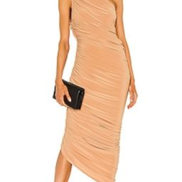 Norma Kamali X REVOLVE Diana Gown in Nude from Revolve.com | Revolve Clothing (Global)