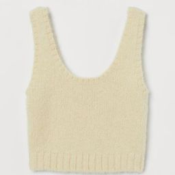 Cropped wool top | H&M (UK, IE, MY, IN, SG, PH, TW, HK, KR)