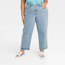 Women's High-Rise Vintage Straight Cropped Jeans - Universal Thread™   Target