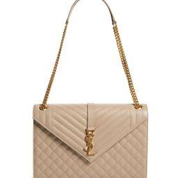 Large Envelope Calfskin Shoulder Bag | Nordstrom