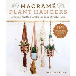 Macramé Plant Hangers - by  Chrysteen Borja (Paperback)   Target