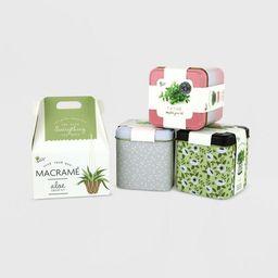 4pc Grow Kit Bundle with Macrame Kit - Bullseye's Playground™   Target