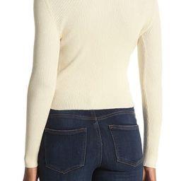 Long Sleeve Ribbed Slim Fit Henley Sweater | Nordstrom Rack