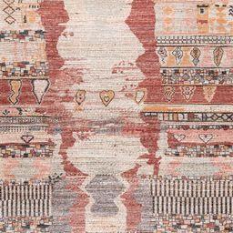 Multi Tribal Fresco Tassel 5' x 8' Area Rug | Rugs USA