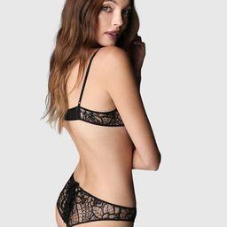 Coquette Corset Panty Black | Kiki De Montparnasse