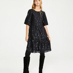 Tiered Mini Shift Dress | Ann Taylor (US)