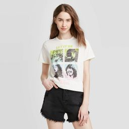 Women's The Beatles Let it Be Short Sleeve Graphic T-Shirt (Juniors') - Ivory   Target