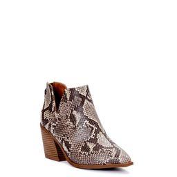 Scoop Women's Block Heel Cutout Bootie | Walmart (US)