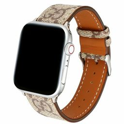 Brown Genuine Leather Apple watch strap 38mm40mm 42mm44mm , GG Classic watch strap 38mm all apple...   Etsy (US)
