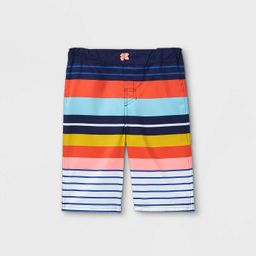 Boys' Adaptive Striped Swim Trunks - Cat & Jack™ | Target