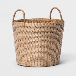 Round Decorative Basket Natural - Threshold™ | Target