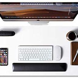 Leather Desk Pad Protector,Mouse Pad,Office Desk Mat, Non-Slip PU Leather Desk Blotter,Laptop Des... | Amazon (US)