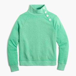 Button-collar pullover sweatshirt   J.Crew Factory