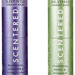 Scentered Sleep Well & DE-Stress - Aromatherapy Balm Duo Gift Set - Supports Bedtime Relaxation, ...   Amazon (US)