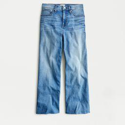 Slim wide-leg jean in French Blue wash   J.Crew US