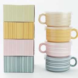 Temp-tations Variety Set of 4 Meal Mugs with Gift Boxes - QVC.com   QVC