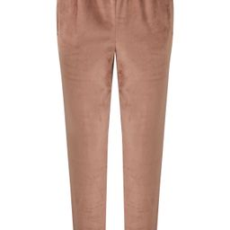 Women's Skims Velour Joggers, Size Large - Brown   Nordstrom