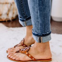 The Sky Is The Limit Tan Brown Sandals | The Mint Julep Boutique