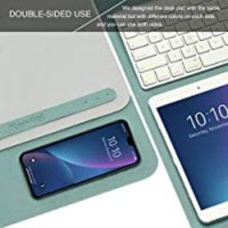 "Knodel Desk Pad, Office Desk Mat, 31.5"" x 15.7"" PU Leather Desk Blotter, Laptop Desk Mat, Waterpr... | Amazon (CA)"
