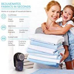 Wonder Lint Fabric Sweater Shaver Fuzz Pill Bobble Remover Depiller Electric Clothes Furniture Pe... | Amazon (CA)