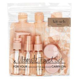 Kitsch, Travel Set Ultimate Peach, 11 Piece   Amazon (US)