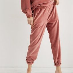 Aerie REAL Obsessed Velour Jogger | American Eagle Outfitters (US & CA)