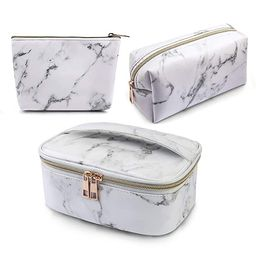 MAGEFY 3Pcs Makeup Bags Portable Travel Cosmetic Bag Waterproof Organizer Multifunction Case with...   Amazon (US)