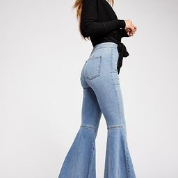 Just Float On Flare Jeans   Free People (US)