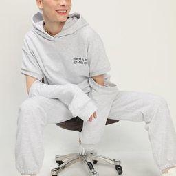 Kate Sleeve Cutout Hoodie Sweatshirt | Storets (Global)