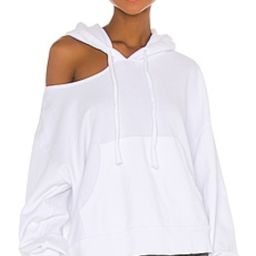 LNA Lion Hoodie in White from Revolve.com | Revolve Clothing (Global)