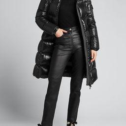 Moncler Moyadons Shiny Quilted Jacket | Bergdorf Goodman