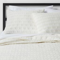 Triangle Stitched Jersey Quilt - Project 62™+ Nate Berkus™   Target
