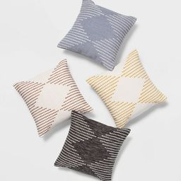 Modern Stitched Square Throw Pillow - Project 62™   Target