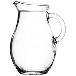 "Amazing Child Mini Glass Pitcher 9 Ounces - 5"" High. Child Sized. Very Small Size   Amazon (US)"
