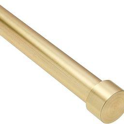 "Umbra Cappa, ¾"" Adjustable Curtain Rod for Windows – 66 to 120"" Drapery Rod, Brass | Amazon (CA)"