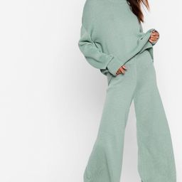 You've Met Your Match Knitted Sweater and Pants   NastyGal (US & CA)