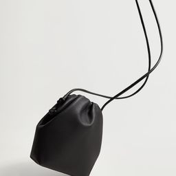 Bag with ruched detail   MANGO (US)