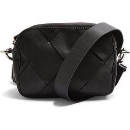 Woven Leather Crossbody Bag   Nordstrom