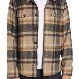 Billy Reid | Standard Fit Plaid Button-Up Flannel Shirt Jacket | Nordstrom Rack | Nordstrom Rack