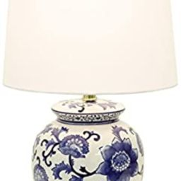 Décor Therapy TL14119 Blue and White Ceramic Table Lamp | Amazon (US)