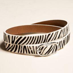 Zebra Print Belt | Tillys